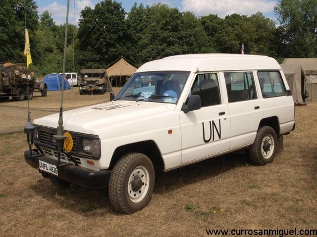 A pesar de su sesgo guerrero, el Patrol también ha estado presente en misiones de paz.