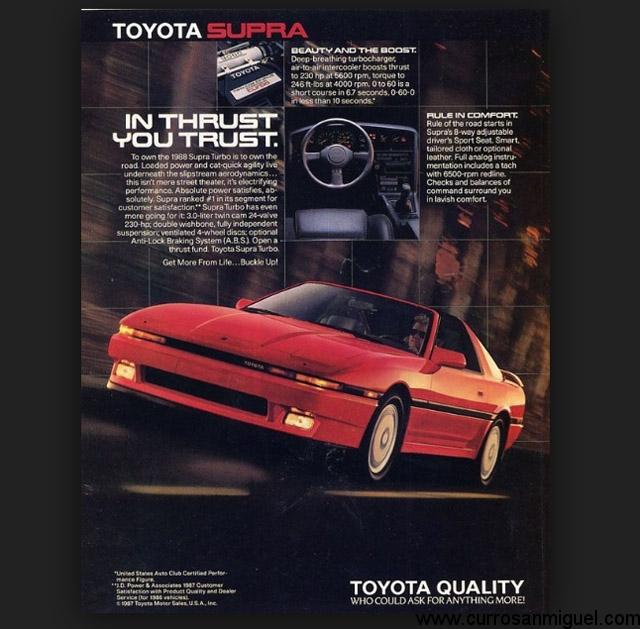 Su publicidad destacaba tanto su potencia como su equipamiento, confort y calidad de fabricación