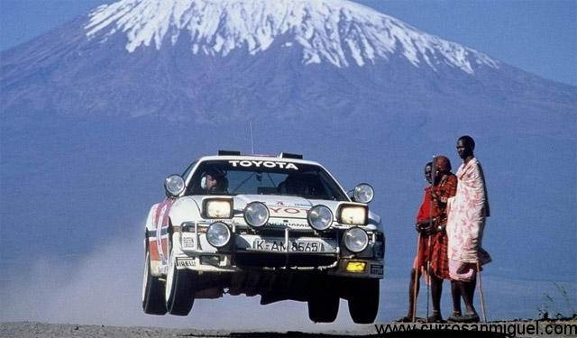 Y gracias a lo duro y fiable que era también alguno fue convertido en coche de rally