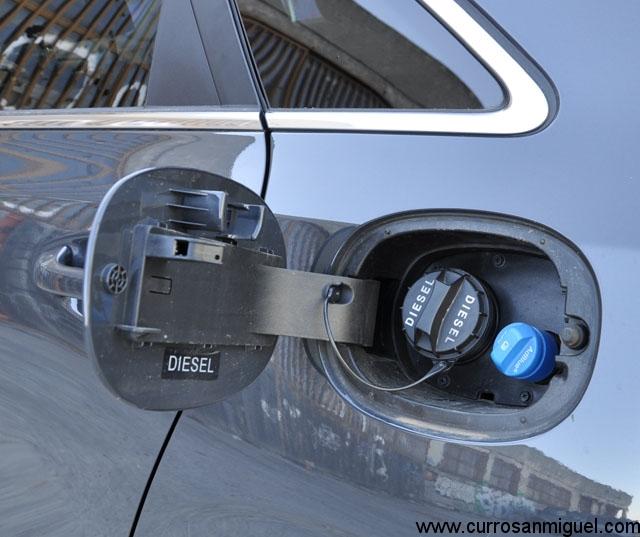 Este diesel es limpio gracias a que usa adblue, entre otras cosas.