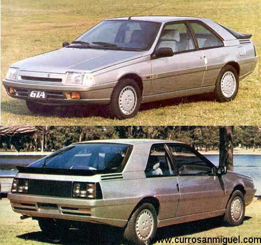 El Renault Fuego GTA argentino era una mezcla entre un R-11, un Alpine A610... y un Delorean.