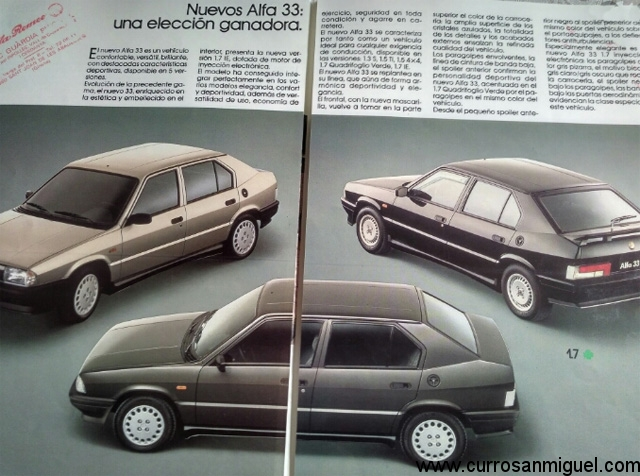 En su restyling de 1986 apenas se cambiaron los tapacubos, las molduras y se tintaron los pilotos traseros.