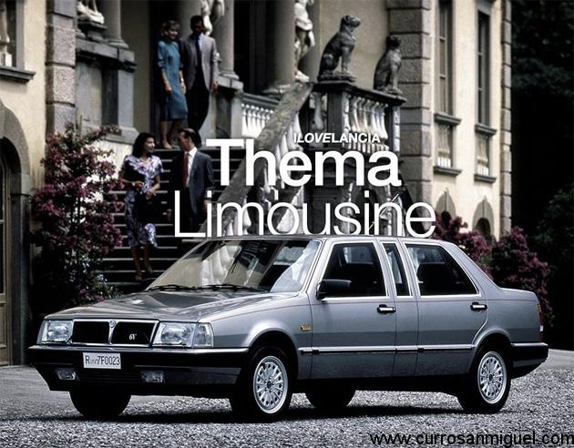Para los más pudientes, existió una bonita versión limusina. Eran los años ochenta, y estas carrocerías estaban de moda.