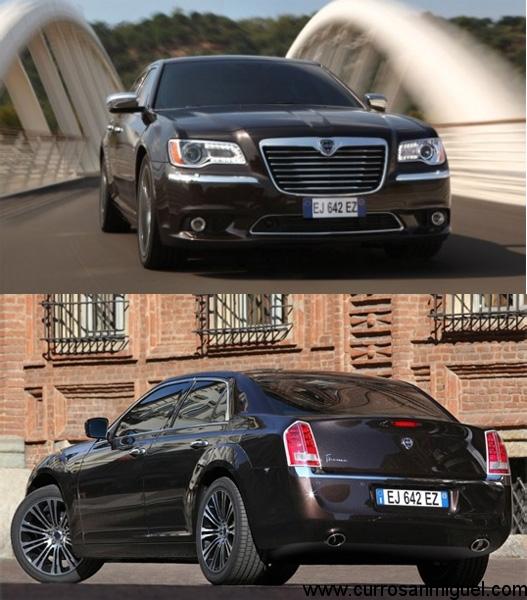 En el año 2012 el Thema volvió, pero simplemente era su nombre en la carrocería de un Chrysler 300C. Tampoco tuvo mucho éxito.