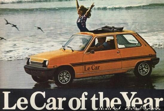 El LeCar era la versión para USA de nuestro errecinco. Tuvo su éxito.