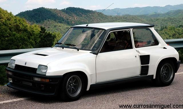 El Renault 5 Maxi Turbo era un auténtico coche de carreras. Me encantaría tener uno…
