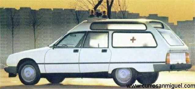 La versatilidad de la carrocería familiar permitió hasta conversiones en ambulancia