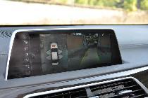 El sistema completo de cámaras disponibles es una gozada de cara a maniobrar los más de cinco metros de BMW...