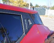 Tiradores de puertas traseras ocultos al estilo de falso cupé. No me gustan mucho, pero si el diseño lo pide...