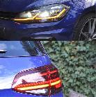 Al igual que el GTi, el R usa tecnología LED en toda su iluminación