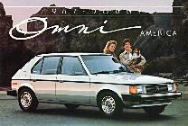 La versión USA denominada Dodge Omni difería tan sólo del Horizon en las luces de su frontal