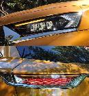 Además de bonitos, los faros del DS7 iluminan bastante bien