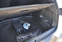 En el maletero podemos rellenar este hueco con una rueda de repuesto de emergencia, si lo deseamos