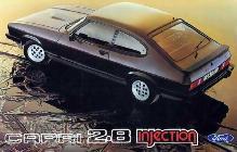 Extinto el 3.0S, el 2.8 Injection era el modelo más prestacional y deseado de la gama Capri