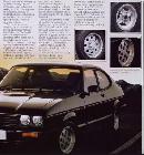 Según los acabados variaban el tipo de llantas montadas. Las de agujeros estaban de moda a finales de los 70 y primeros de los 80