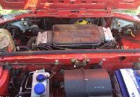 El bloque boxer del Alfa 33 era realmente compacto e iba colocado muy adelantado en el vano.