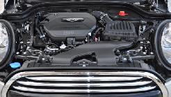 Con sólo tres cilindros, el motor de este Mini no es ni mucho menos, un minimotor...