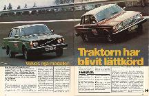La prensa sueca de la época ensalzó ambos modelos con muy buenas críticas, como queda claro en este artículo...