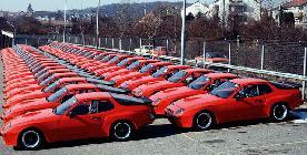 Y estos eran los coches de carretera necesarios para homologar el modelo de competición