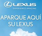 Parking gratis para tu Lexus