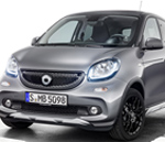 Ya disponible Smart Forfour Crosstown