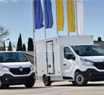 Vehículos profesionales Renault en ruta