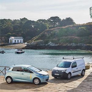 La isla sostenible de Renault
