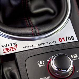 Impreza STi WRX Final Edition