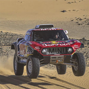 Sainz-Cruz ganan el Rally Dakar