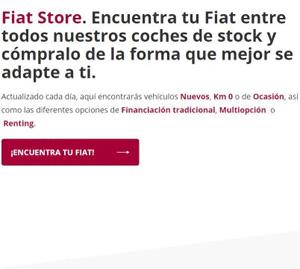 Compra tu Fiat online