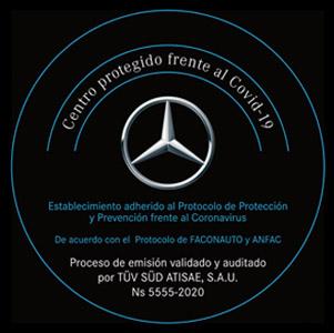 Mercedes acredita sus centros antiCOVID