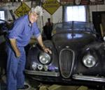 El equipazo Jaguar para la Mille Miglia